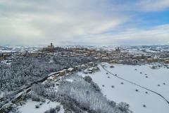 Nevicate -  Montegiorgio - 13 febbraio 2021 - 8000 X 6000 - R-M2
