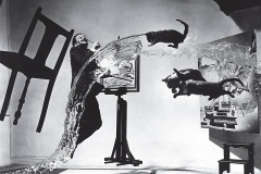 Dalì atomicus - Foto di Philippe Halsman - 1948