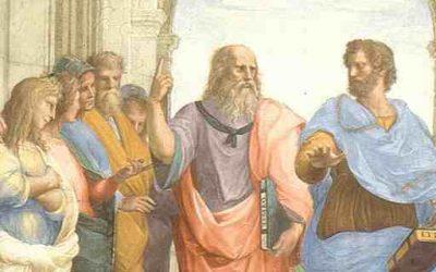 Platone La scuola di Atene Copertina