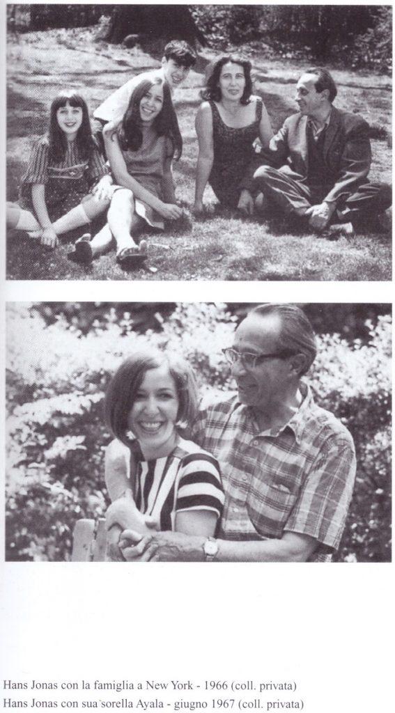 Hans Jonas e la famiglia Hans Jonas e la sorella
