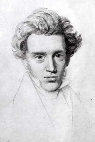 Soren Kierkegaard Ritratto