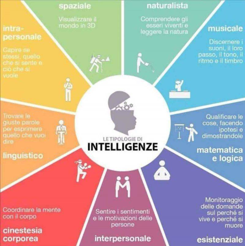 I 9 tipi di intelligenza secondo Gardener