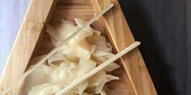 Zenzero marinato con aceto di riso Ricetta