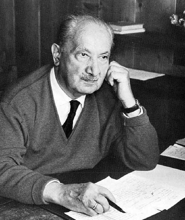 Martin Heidegger Primo piano